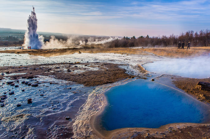 The Golden Circle and South Coast Waterfalls Private Tour from Reykjavik