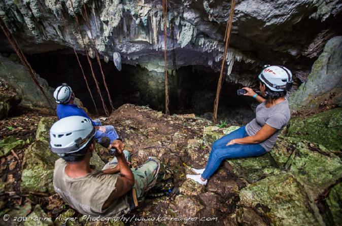 Day Trip To Crystal Cave and Blue Hole National Park