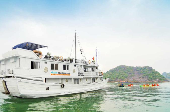 Overnight Halong Bay Cruise on the Alova Gold