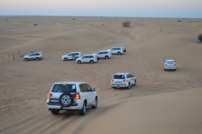 Desert Safari From Dubai: Including Buffet Dinner and Live Entertainment