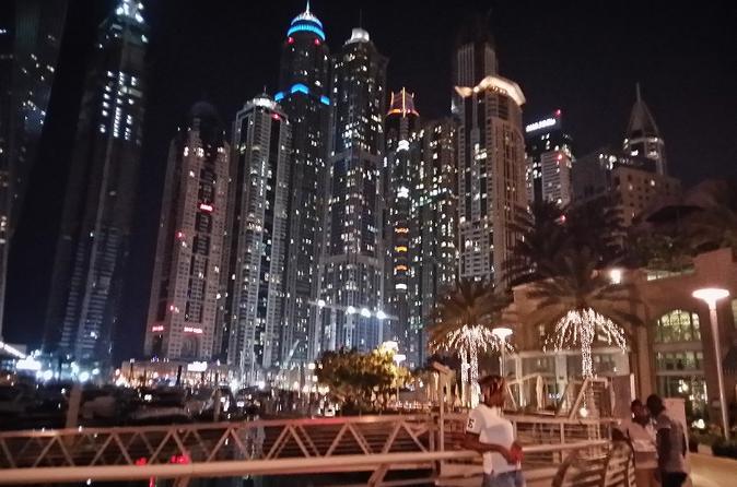 Dubai City Tour By Night With Burj Khalifa Ticket