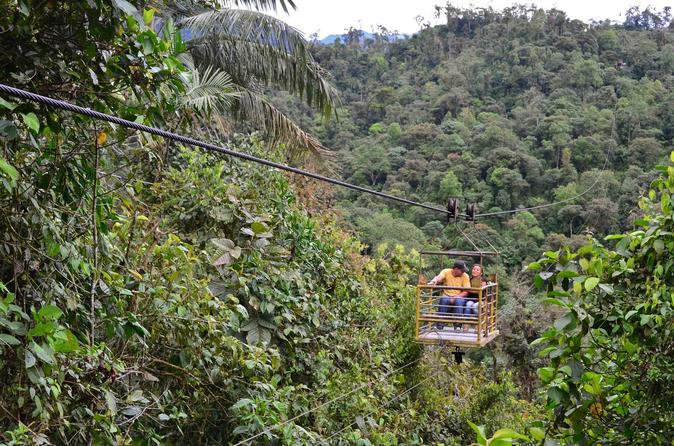 Mindo's Cable Car And Waterfall Sanctuary