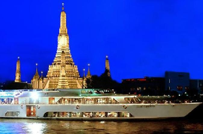 Bangkok: Grand Pearl Dinner Cruise including Transfers