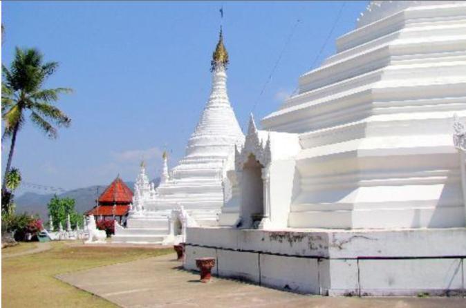Halbtages Stadt und Tempel Tour von Mae Hong Son