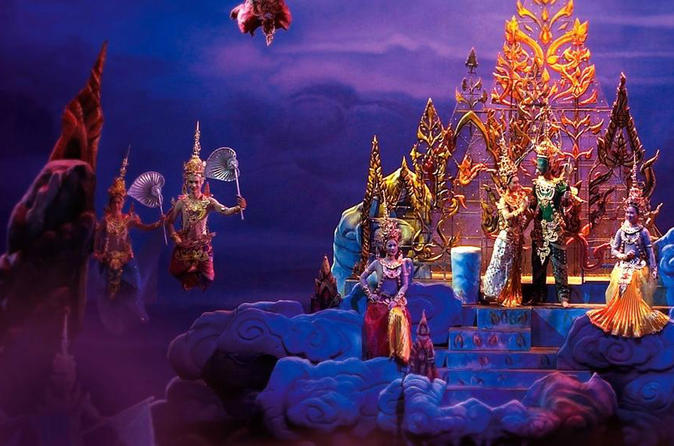 Siam Niramit Show Including Dinner and Transfers from Bangkok