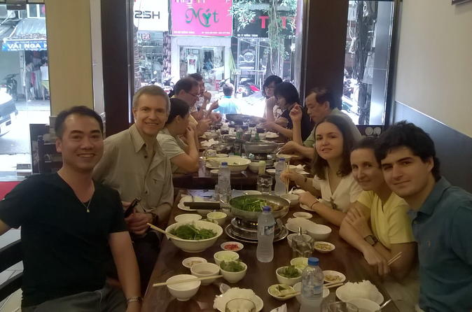 Private Street Food Tour Adventure in Hanoi