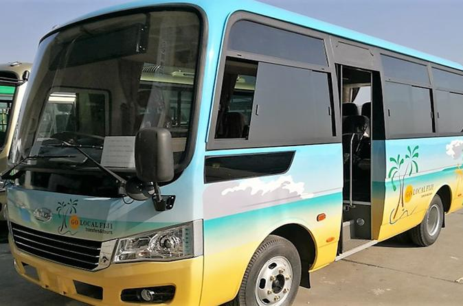 Private Transfer: Nadi Airport To Sonaisali - 9 To 12 Seat Vehicle