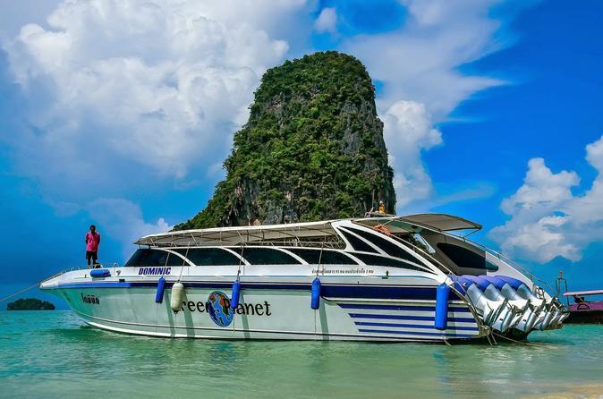 Ao Nang to Phuket by Speedboat via Koh Yao Islands