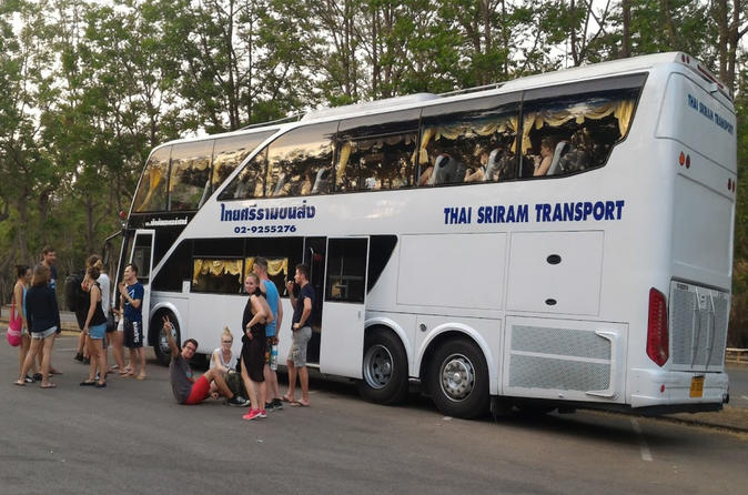 Bangkok to Chiang Mai by Thai Sriram Coach with 36 reclining seats