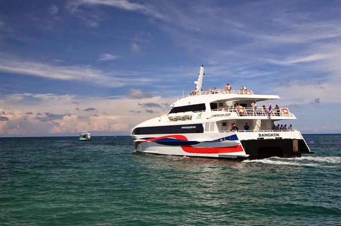 Bangkok to Koh Tao Transfer by VIP Coach and High Speed Catamaran