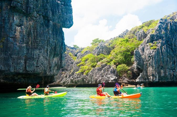 Kayaking Abenteuer in Angthong Marine Park