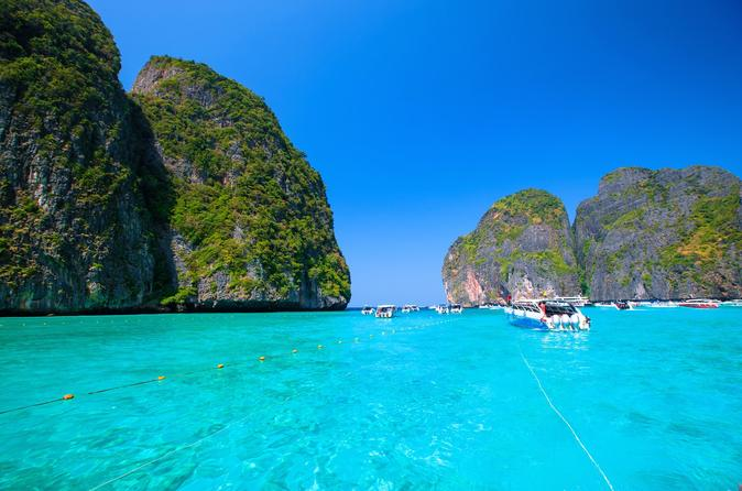 Full-Day Phi Phi Islands Day-Trip from Krabi including Lunch and National Park Fees