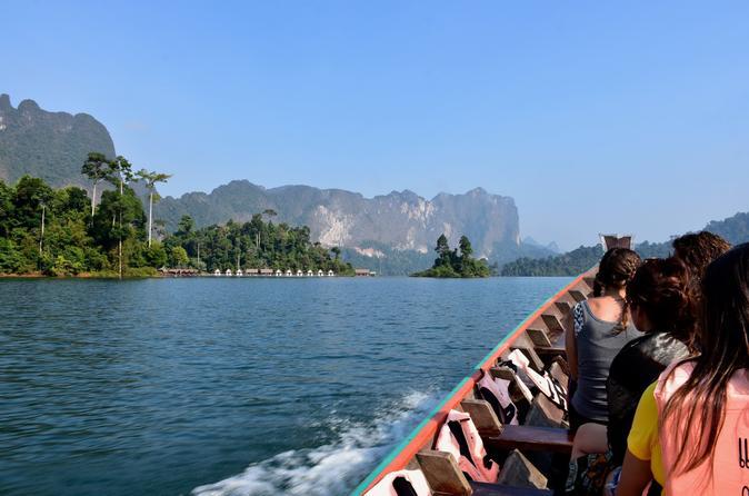 Full day tour to cheow lan lake in khao sok national park from krabi in krabi noi 508582