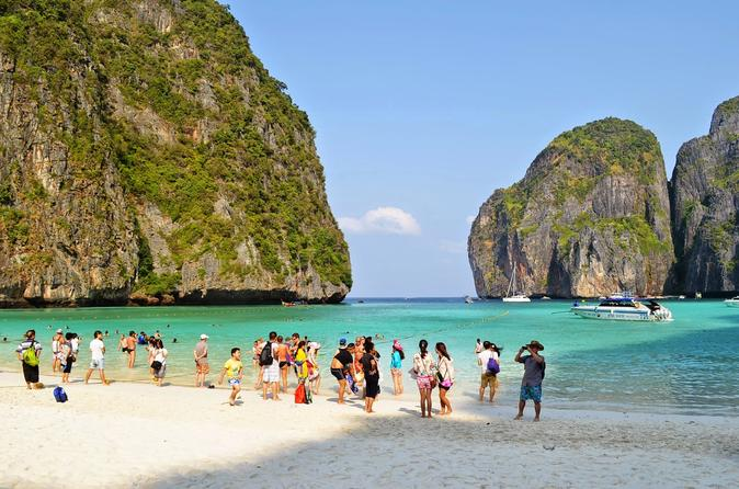 HalfDay Phi Phi Island Deluxe Tour From Phuket With