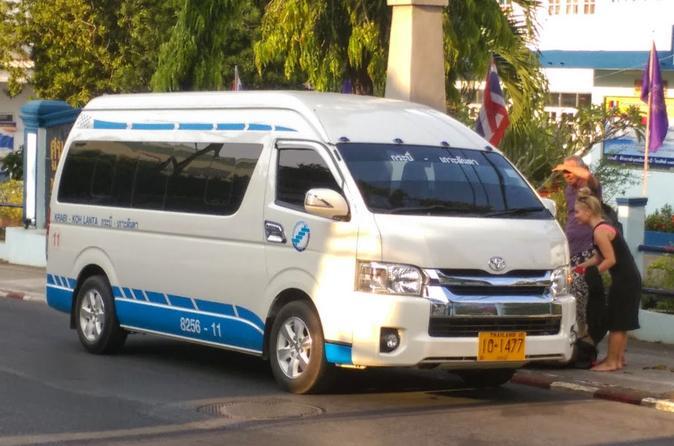 Koh lanta to krabi town krabi airport or bus terminal by minivan in ko lanta yai 229335