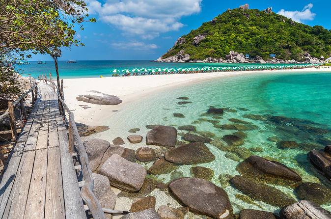 Koh Nangyan Snorkeling and Koh Tao Tour by Catamaran Cruise from Koh Samui