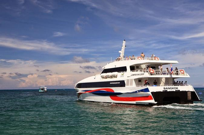 Koh Phangan to Krabi by High Speed Catamaran and Coach