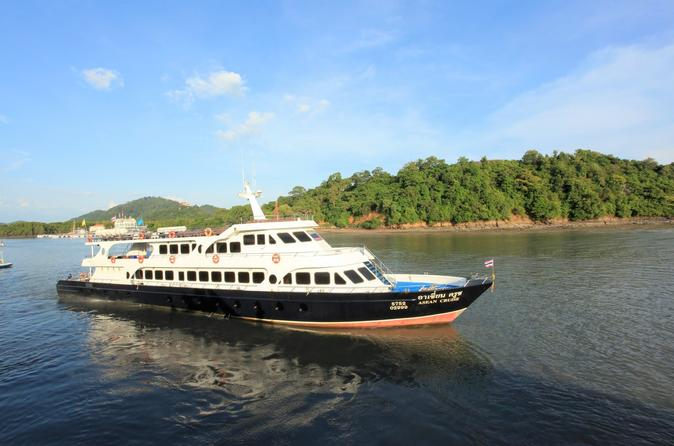 Koh Phi Phi To Phuket By High Speed Ferry - Krabi