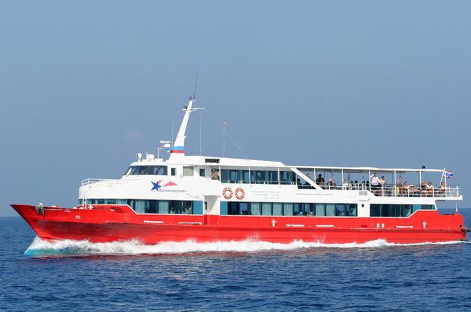 Koh Tao to Koh Samui Including High Speed Ferry