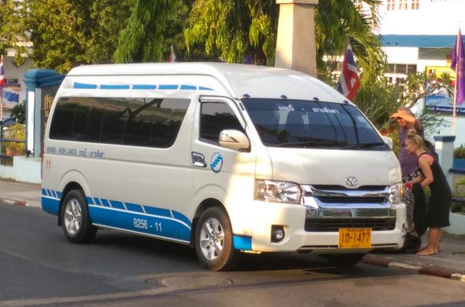 Krabi to Koh Lanta by Shared Minivan with Hourly Departures