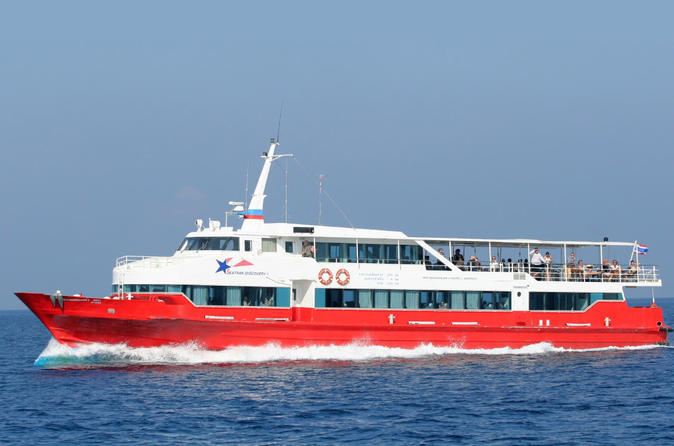 Krabi To Koh Tao By VIP Coach And High Speed Ferry