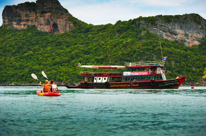 Inseltour zum Angthong Marine Park