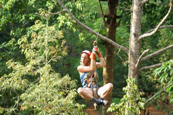 Thai'd Up Zip Line Abenteuer in Krabi