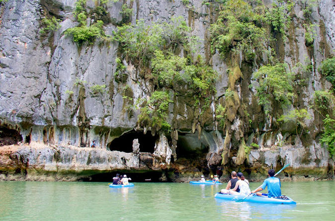 Day Trip Kayaking at Phang Nga Bay from Phuket