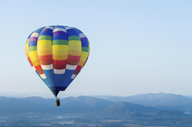 Private tour hot air balloon ride over central tennessee in lewisburg 254081