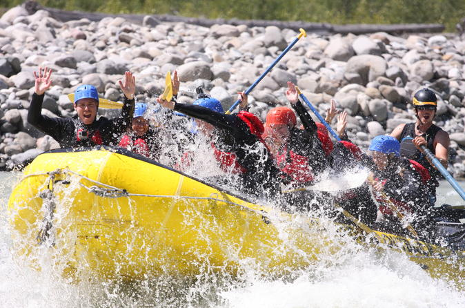 Squamish Elaho White-Water Rafting