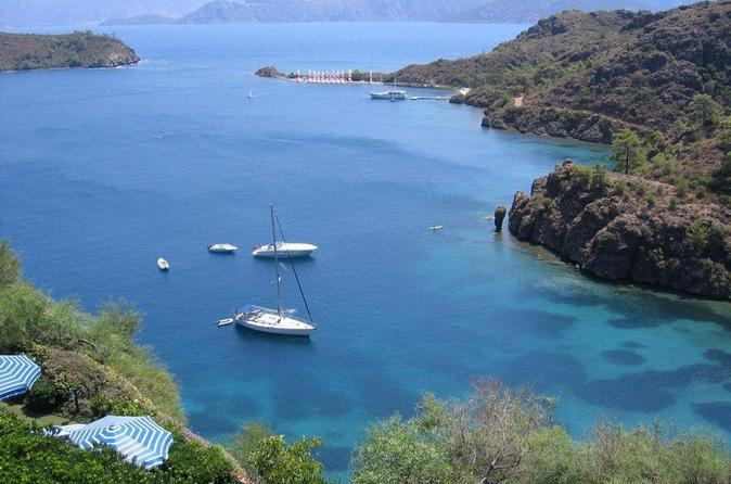 Boat Tour in Marmaris with Lunch and Transfer Included