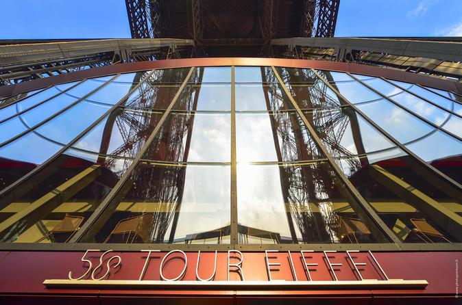 VIP da Viator: Jantar com 4 pratos na Torre Eiffel com champanhe e mesa com vista para Trocadero