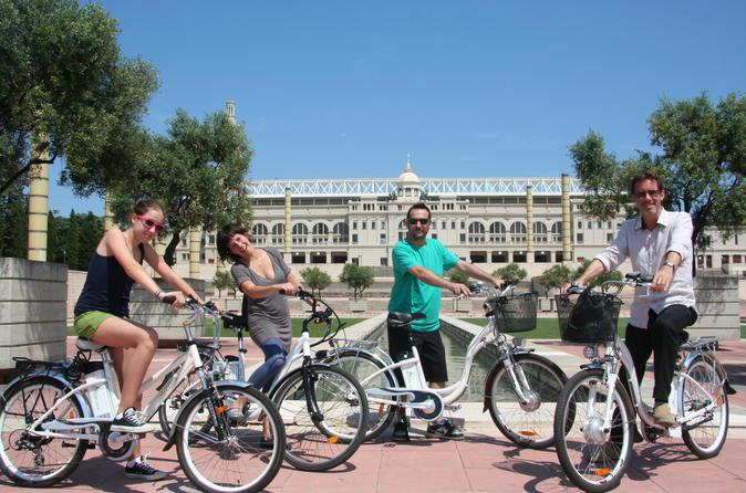 Barcelona Electric Bike Tour to Montjuïc Mountain