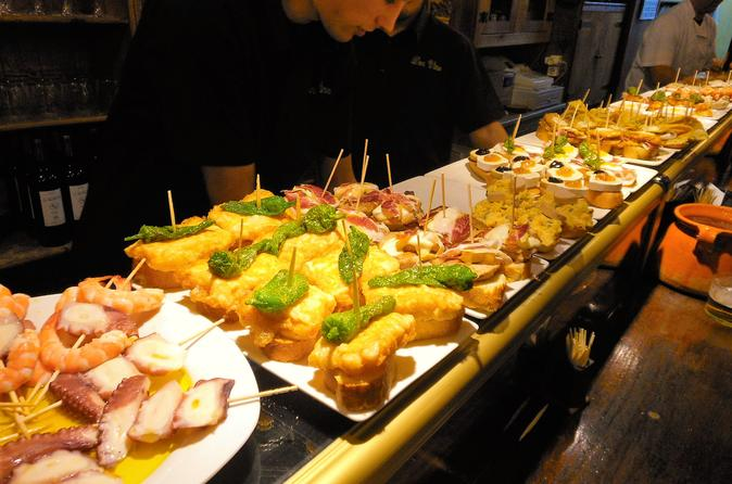 Evening Barcelona Tapas Walking Tour