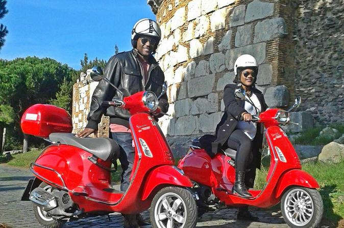 Appian Way Vespa Rome Tour