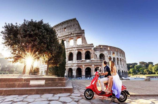 Rome In a Day Private Vespa Tour (Full day tour with lunch break)