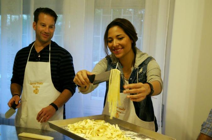 Seja um chef romano por um dia: Aula de culinária para grupos pequenos