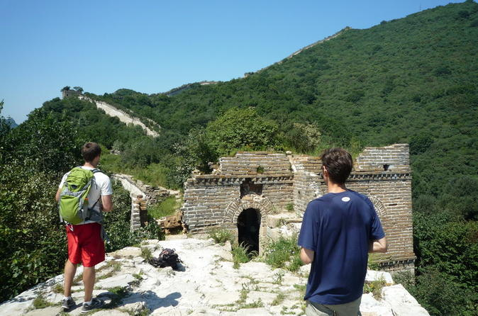 Private Full-Day Great Wall of China Hiking Tour from Jiankou to Mutianyu