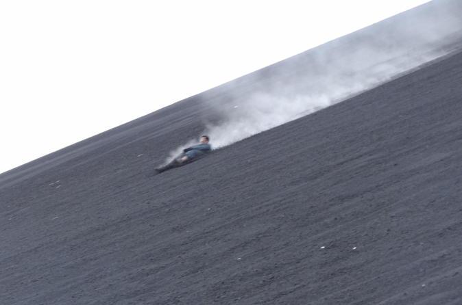 Private cerro negro volcano sandboarding in managua 206745