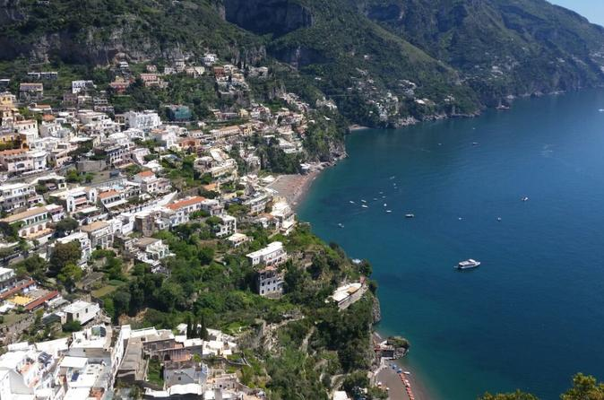 Shared tour Full-Day Driver from Naples to Sorrento, Positano, and Pompeii