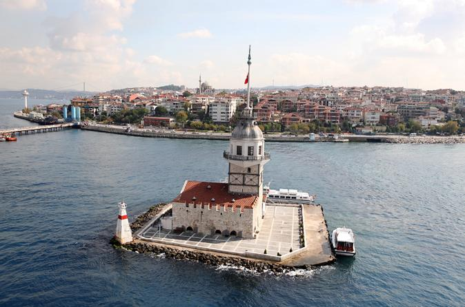Istanbul afternoon tour camlica hill and maiden tower in i stanbul 211342