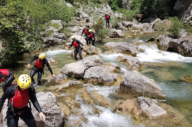 Cetina River Canyoning Tour from Split