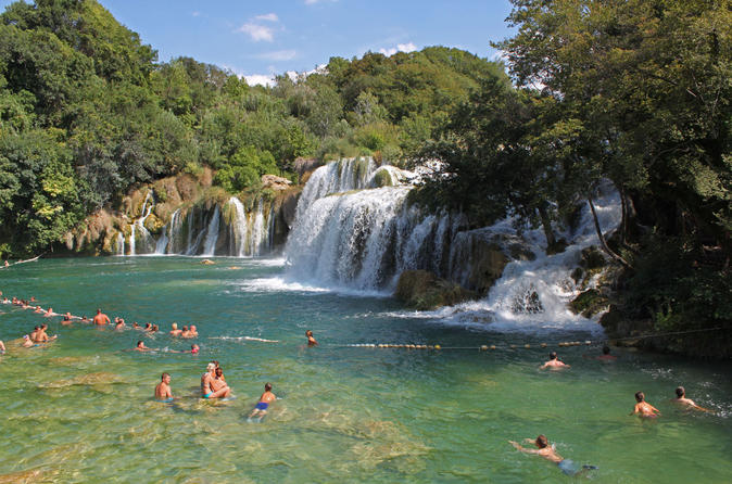 Krka Waterfalls and Sibenik Tour from Split or Trogir