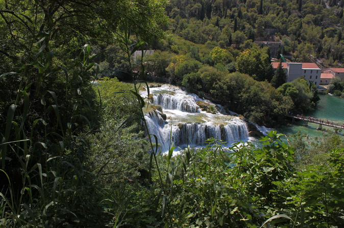 Private Krka Waterfalls And Sibenik Tour From Split