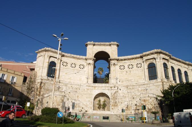 Cagliari Scenic Drive and Walking City Tour