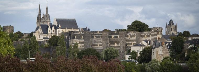 Angers, Western France