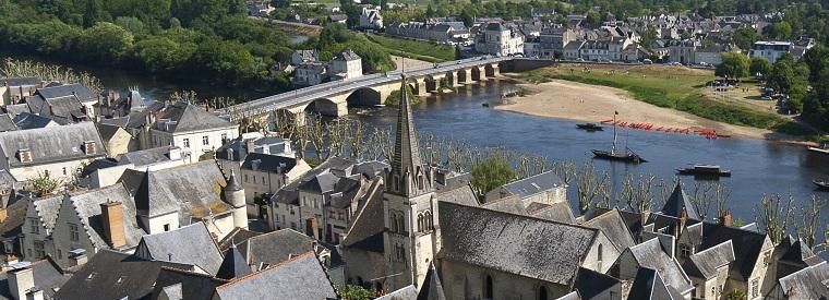 Chinon, Western France