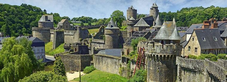 Fougeres, Western France