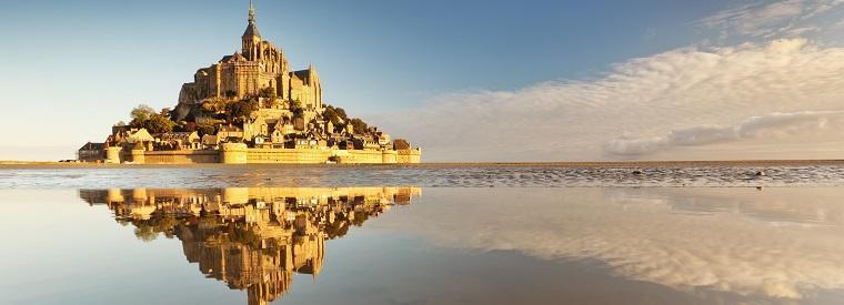 Mont-St-Michel, Western France