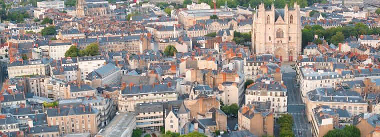 Nantes, Western France